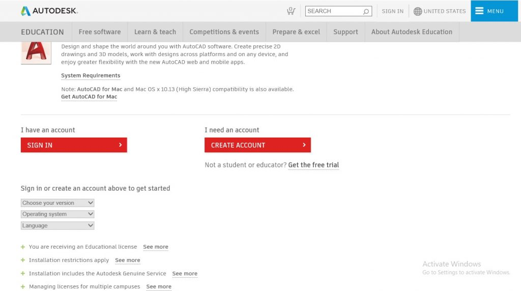 تحميل برنامج اوتوكاد 2020 مجانا والتفعيل من شركة اوتوديسك مجانا